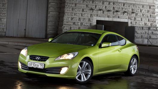 Hyundai Genesis Coupe – совсем другое купе