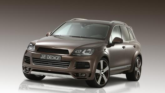 Ателье JE Design переосмыслило внешность нового Volkswagen Touareg