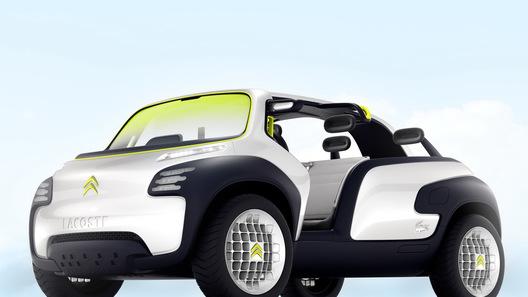 На автосалоне в Париже Citroen представит концепт-кар Lacoste