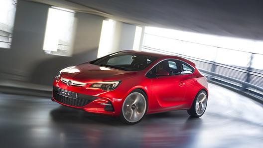 Opel выпустит новый горячий хэтчбек GTC мощностью 290 л.с.
