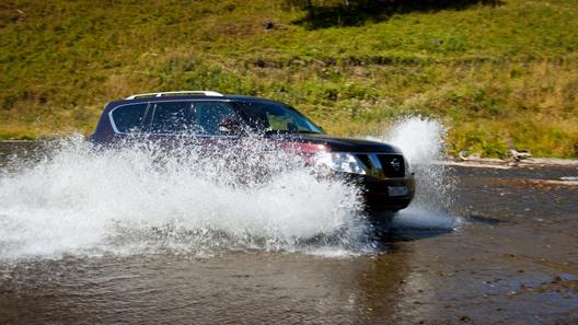 Штурмуем горные дороги Алтая на новой версии Nissan Patrol