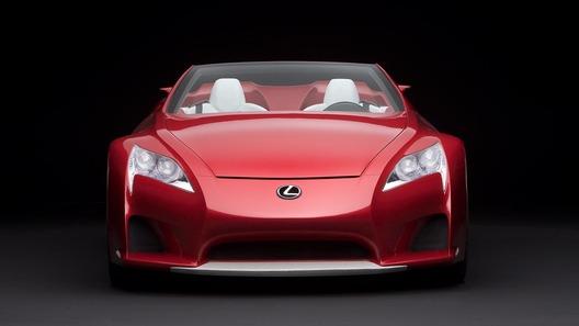 Lexus вынашивает планы по выпуску родстера LF-A и готовит семиместный кроссовер