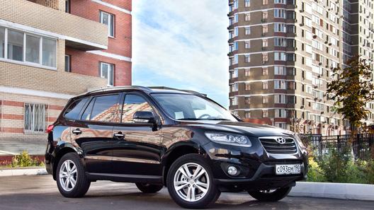 Обновленный Hyundai Santa Fe - постой, паровоз