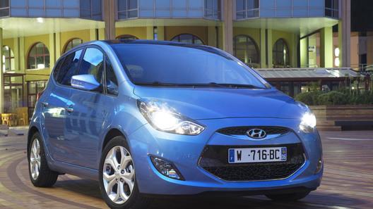 Париж 2010: Hyundai представляет модель ix20
