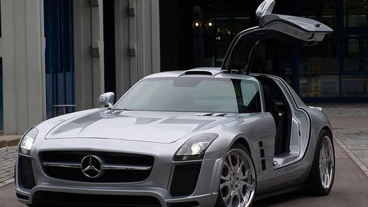 Ателье FAB Design анонсирует модифицированный суперкар Mercedes-Benz SLS AMG