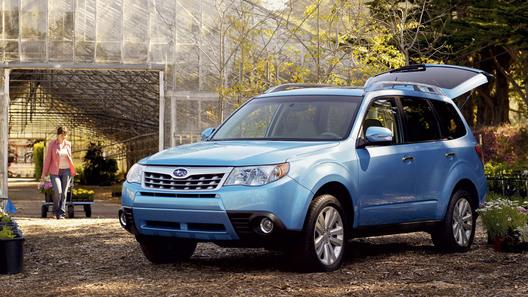 Subaru Forester 2011 года получит новый двигатель и современные опции