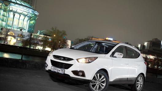 Hyundai ix35: кроссовер с европейским акцентом