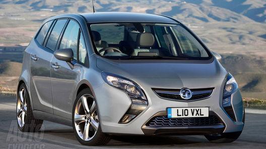 Фотошпионы засняли новый Opel Zafira без камуфляжа