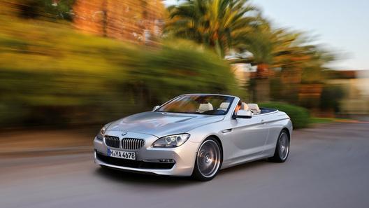 Кабриолет BMW 6 серии обойдется россиянам в 3 860 000 рублей