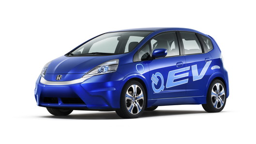 Свой серийный электрокар появится у Honda в 2013 году
