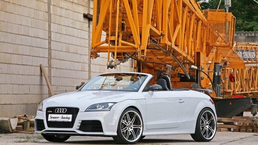 В Германии разогнали Audi TT RS до 430 лошадиных сил