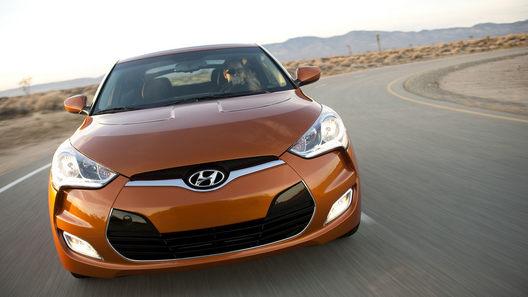 Hyundai Veloster получился неожиданно доступным