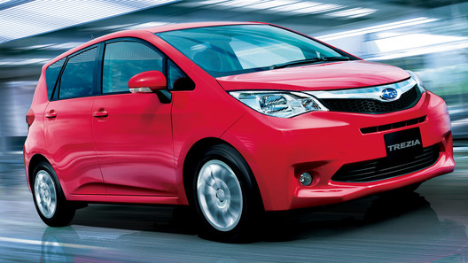 Subaru Trezia будет поставляться в Европу