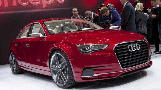Концепт Audi A3 Sedan представлен официально
