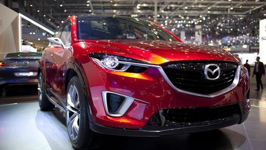 Компактный кроссовер Mazda появится весной 2012 года