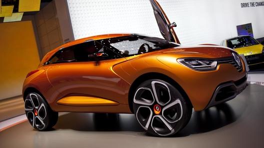 Renault представил в Женеве новый компактный кроссовер