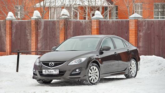 Mazda6 хэтчбек: часть 4 (4107 км)