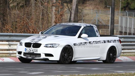 Тайна пикапа BMW М3 раскрыта