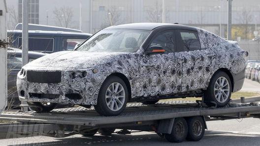 BMW 3-Series GT попался фотошпионам