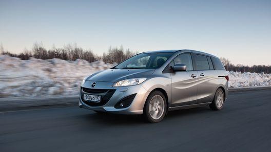 Наслаждаемся загородной поездкой вместе с обновленной Mazda5