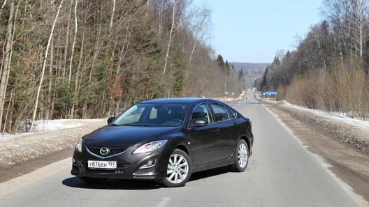Mazda6 хэтчбек: часть 5 (5983 км)