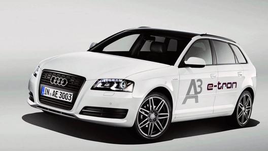 Audi построил электрокар на базе хэтчбека А3