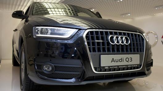 Audi показала новый кроссовер Q3 в Москве