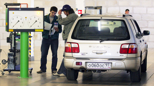 В Российской Федерации  на100%  поменяется  порядок регистрации автомашин