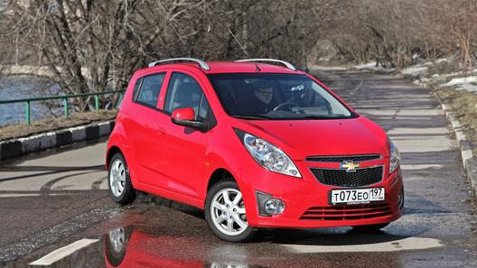 Chevrolet Spark: часть 3 (3754 км)