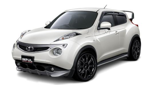 Первый тюнинг Nissan Juke сделали в Японии
