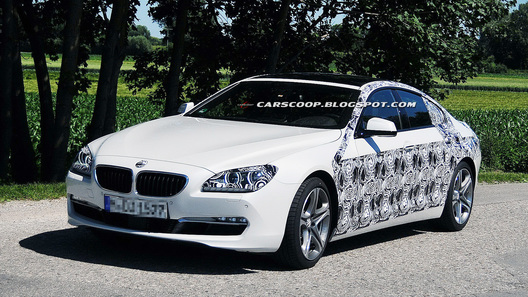 BMW 6 Series Gran Coupe приступил к дорожным тестам