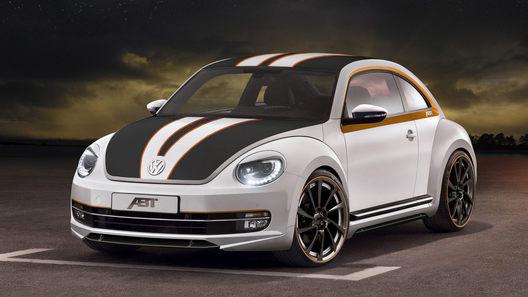 Ателье ABT основательно подошло к доработке VW Beetle