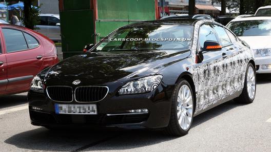 Четырехдверная BMW 6 Series замечена на дорожных испытаниях