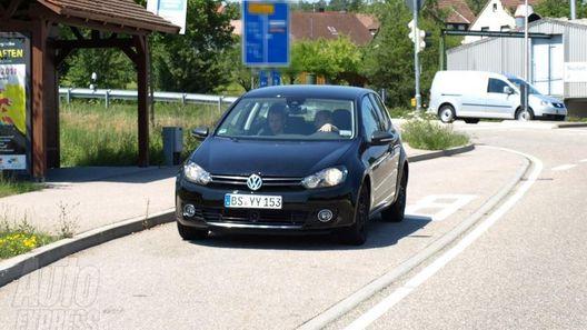 Volkswagen Golf седьмого поколения продолжает испытания