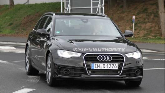 Audi S6 Avant впервые