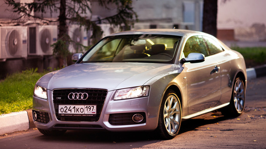Audi A5: часть 1 (1221 км)