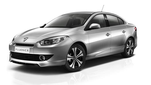 Renault привез в Россию спецверсию Fluence