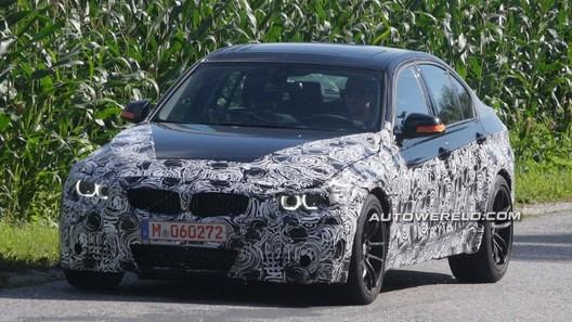 BMW M3 2014 года уже тестируется на дорогах