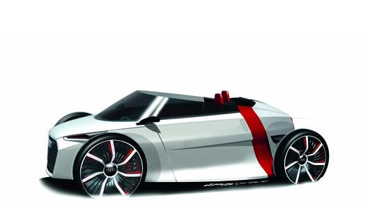 Audi представила открытый электро-концепт