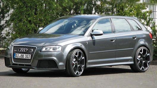 Audi RS 3 получил четырехступенчатую программу апгрейда до 510 л.с.
