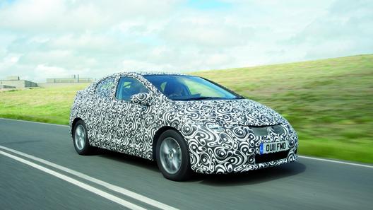 Новое поколение Honda Civic дебютирует во Франкфурте