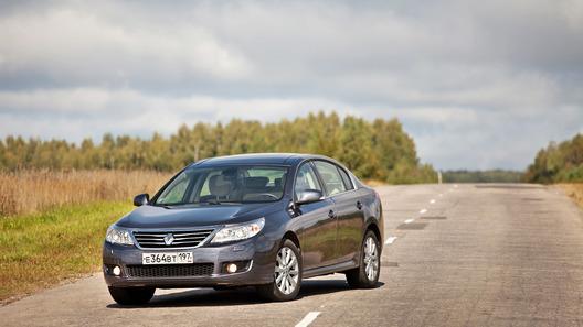 Renault Latitude: корейско-французская экспансия
