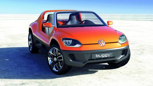 Самый маленький VW может превратиться в пляжный багги