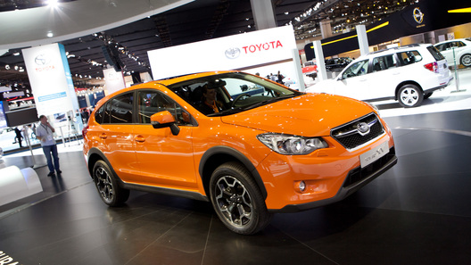 Subaru показала во Франкфурте новый кроссовер и концепт