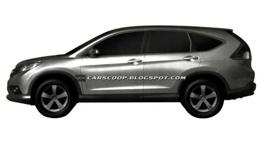 Обнародованы изображения серийного Honda CR-V