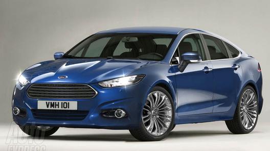 Новый Ford Mondeo будет похож на концепт Evos