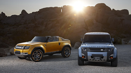 Внедорожные прототипы Land Rover слегка обновились