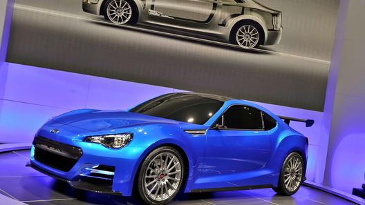 Состоялась премьера Subaru BRZ Concept STI
