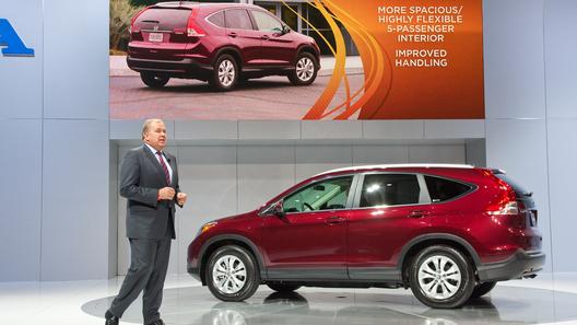 Продажи нового Honda CR-V стартуют 15 декабря