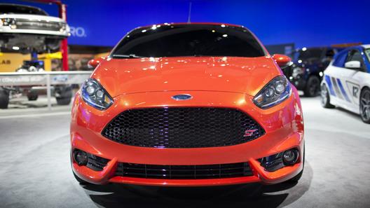 Ford везет в Женеву серийную Fiesta ST